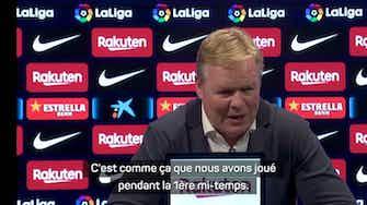 """Image d'aperçu pour 5ème j. - Koeman : """"Ce n'est plus le Barça d'il y a 8 ans"""""""