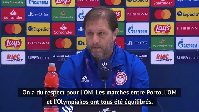 """Groupe C - Pedro Martins : """"Du respect pour l'OM"""""""