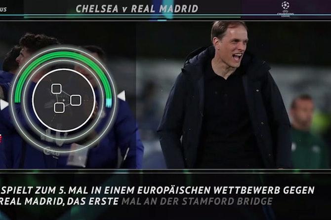 Tuchel vs. Zidane: Die Fakten vor dem CL-Kracher