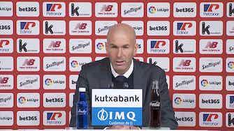 """Imagen de vista previa para Zidane, en titulares: """"Cómo voy a decir a mis jugadores ahora que me voy"""""""