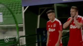 Image d'aperçu pour L'entrainement de l'Ajax à Lisbonne