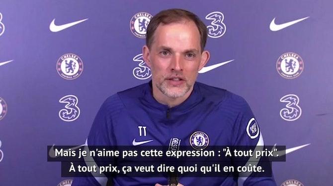 """37e j. - Tuchel : """"Plus c'est tendu, plus on aborde le match normalement"""""""