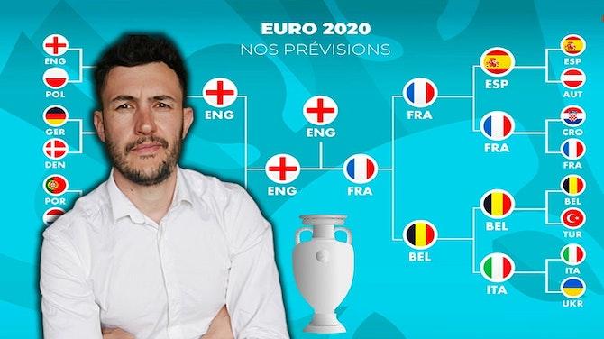 MES PRONOSTICS POUR L'EURO 2021 ! ( jusqu'à la finale)