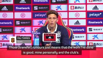Preview image for Torres not worried about transfer talk