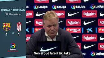 """Anteprima immagine per  Koeman: """"Il tiki taka? Non è più il Barça di otto anni fa"""""""