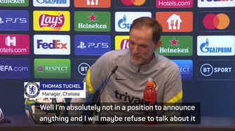 Preview image for 'Nothing to announce' - Tuchel tight-lipped on Lukaku arrival