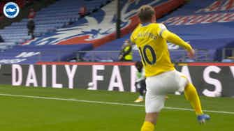 Preview image for Mac Allister's last-minute goal vs Palace