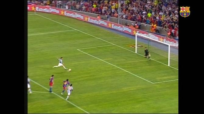 Imagen de vista previa para La última visita de la Juventus en el Trofeo Gamper del Barcelona, en 2005