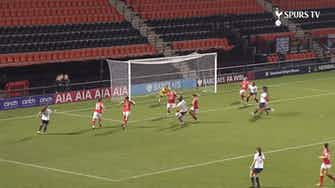 Preview image for Tang Jiali scores first goal for Tottenham Women