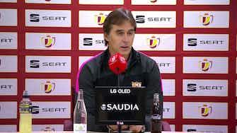 "Imagen de vista previa para Lopetegui, en titulares: ""Hicimos un buen partido ante un buen Almería"""