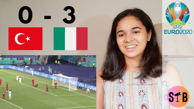 REACTING to Turkey 0-3 Italy | #EURO2020