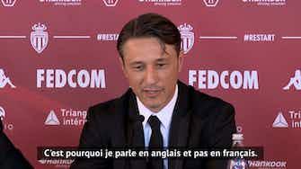 """Image d'aperçu pour Monaco - Kovač : """"Ramener l'ASM au sommet de la Ligue 1"""""""