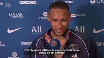 """Image d'aperçu pour Neymar : """"Magnifique de retrouver tous les supporters"""""""
