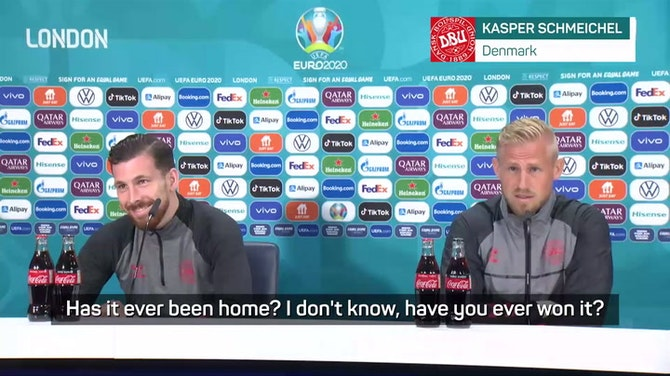 Preview image for Has it ever come home? Schmeichel on that England phrase