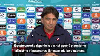 """Anteprima immagine per Perisic positivo al Covid, Dalic: """"Uno shock per tutti"""""""