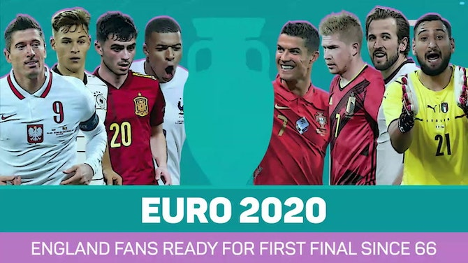 Preview image for England fans ready for first final since 66
