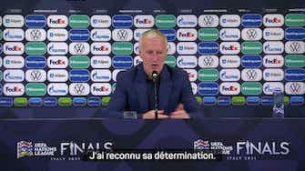 """Image d'aperçu pour Demies - Deschamps : """"Jamais eu de doute par rapport à Mbappé"""""""