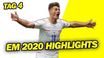 Vorschaubild für Schick mit dem Tor des Turniers? Lewandowski taucht gegen die Slowakei & Spanien startet ohne Treffer!
