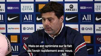 """Image d'aperçu pour 6e j. - Pochettino est """"optimiste"""" à propos d'un retour rapide de Sergio Ramos"""