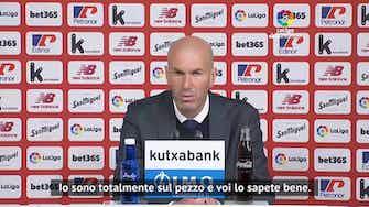 """Anteprima immagine per Zidane non ci sta: """"Mai detto ai giocatori che vado via"""""""