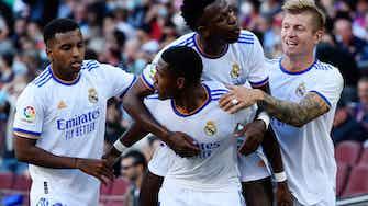Vorschaubild für Erster Clasico nach Messi-Ära: Alaba führt Real zum Sieg