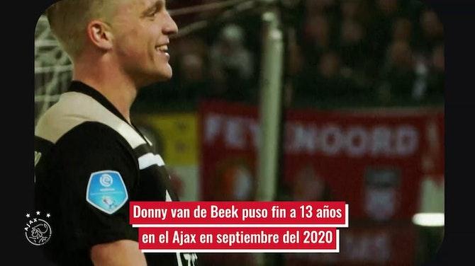La trayectoria de Donny van de Beek en el Ajax antes de fichar por el United