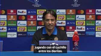 """Imagen de vista previa para Inzaghi: """"Iremos con el cuchillo entre los dientes"""""""