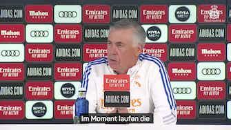 """Vorschaubild für Ancelotti: Meine Mannschaft hat """"Eier"""""""