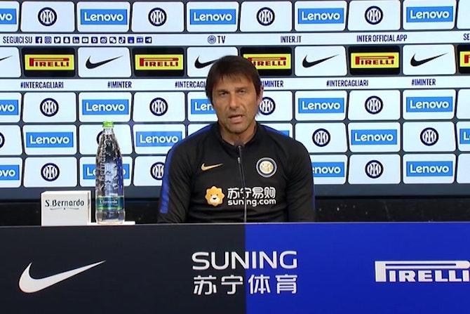 """Inter, Conte: """"Non abbiamo ancora fatto niente, ma ora siamo credibili"""""""