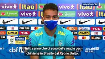 """Anteprima immagine per Brasile-Argentina, Danilo: """"Ci sono regole, non è un segreto"""""""