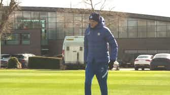 Preview image for Chelsea training Pre Real Madrid HD ©️UEFA 2020