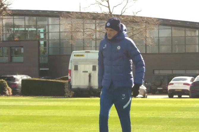Chelsea training Pre Real Madrid HD ©️UEFA 2020