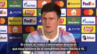 """Image d'aperçu pour Manchester United - Maguire : """"Nous avons du temps pour rebondir"""""""