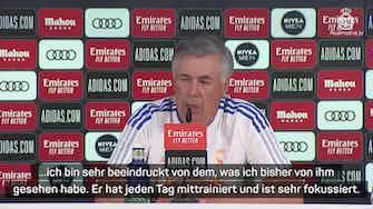 """Vorschaubild für Ancelotti: """"Wenn Bale gut spielt, ist er gesetzt"""""""