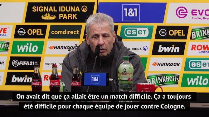 """Image d'aperçu pour 9e j. - Favre : """"Toujours difficile de jouer Cologne, on le savait"""""""