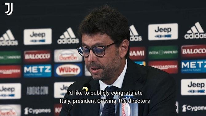 Vorschaubild für Allegri: 'A new working cycle for me at Juventus'
