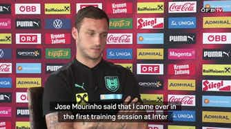 Preview image for Mourinho story differs from truth - Arnautovic