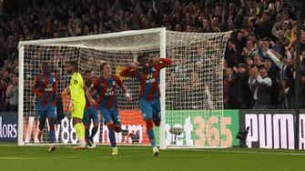Preview image for Pitchside: Zaha scores in draw vs Brighton