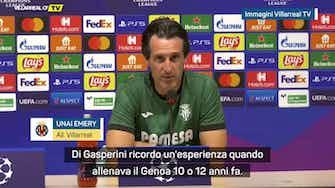 """Anteprima immagine per Emery: """"Atalanta come dal denstita? Thiago Motta mi ha detto..."""""""