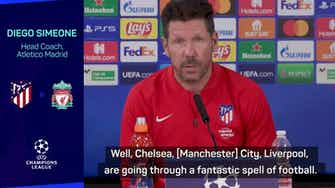 Preview image for Liverpool going through 'fantastic spell' - Simeone