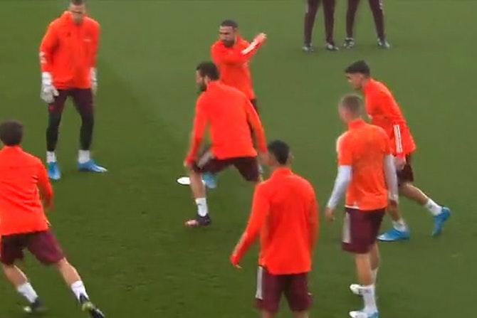 ⚪️ Real Madrid training PRE-Chelsea ©UEFA 2020