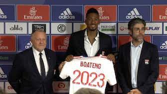 """Vorschaubild für Boateng bei Lyon vorgestellt: """"Siegermenatlität einbringen"""""""