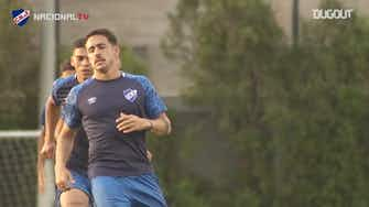 Preview image for Gabriel Neves training with Nacional