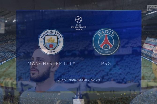 Manchester City y PSG por una plaza en Estambul
