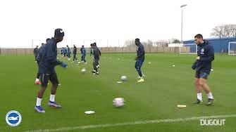 Imagem de visualização para Brighton treina para encarar o Leicester no Inglês