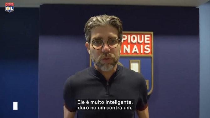 """Imagem de visualização para Juninho exalta chegada de Henrique ao Lyon: """"será uma surpresa muito boa"""""""