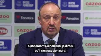 """Image d'aperçu pour Everton - Benitez : """"Féliciter Richarlisson"""""""