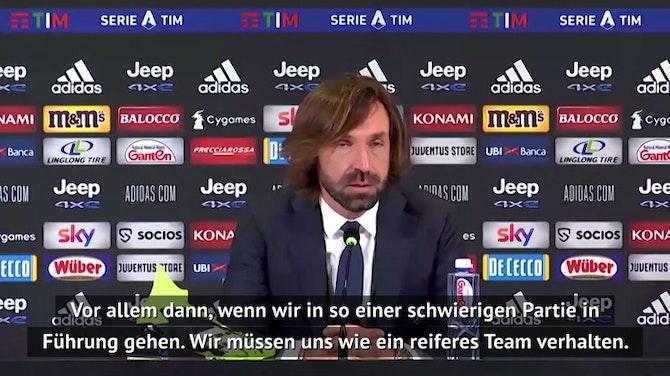 """Vorschaubild für Pirlo zu Gegentor: """"Das darf nicht passieren"""""""
