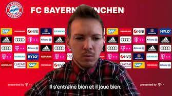 "Image d'aperçu pour Bayern Munich - Nagelsmann : ""Hernandez n'a pas l'air angoissé"""