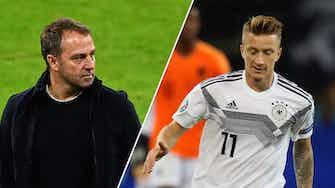 Vorschaubild für DFB-Nominierung: Flick mit drei Überraschungen - Reus zurück